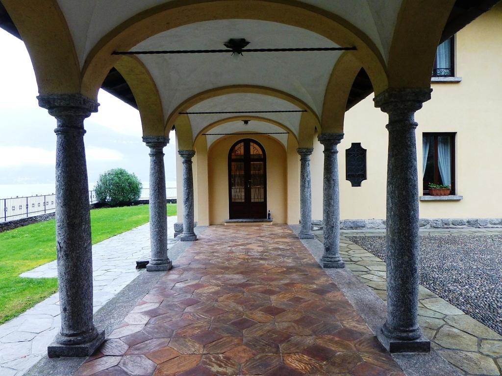 Eingang Villa ComerSee
